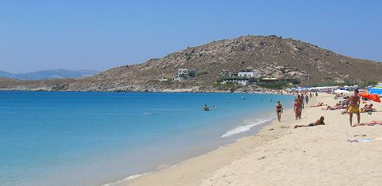 Naxos Greece : Agios Prokopios Beach